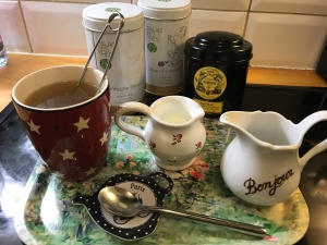 tea stuff for blog
